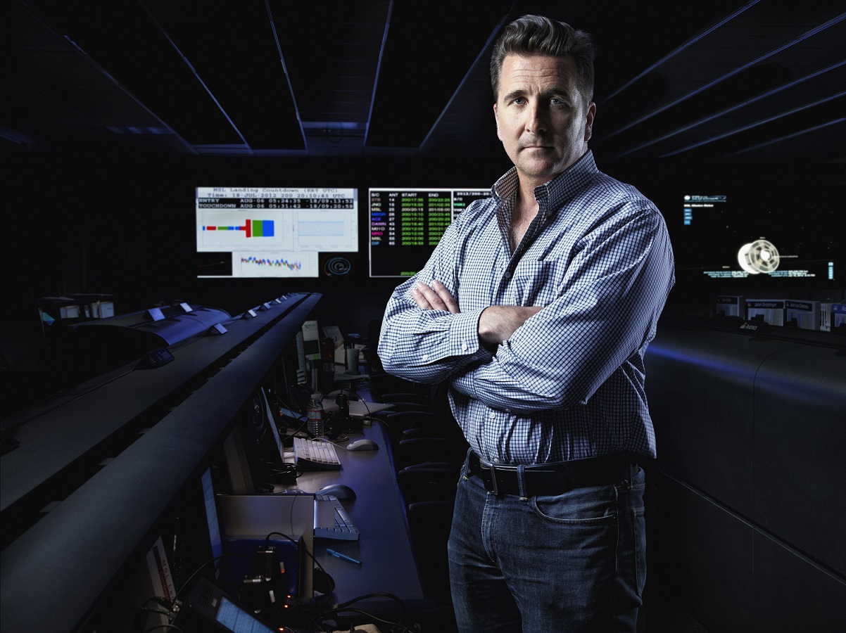 A picture of Adam Steltzner, the 2017 PLTW Conference Keynote Speaker